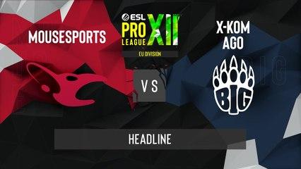 CSGO - BIG vs. mousesports [Dust2] Map 2 - ESL Pro League Season 12 - Playoffs - EU