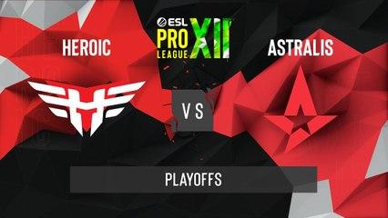 CSGO - Astralis vs. Heroic [Overpass] Map 2 - ESL Pro League Season 12 - Playoffs - EU