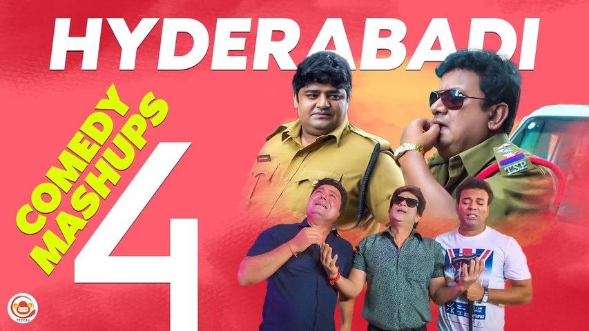 Hyderabadi Comedy Mashups - 4 | Gullu Dada, Aziz Naser, Shehbaaz Khan | Silly Monks Deccan
