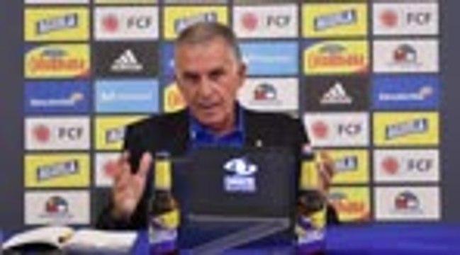 """Colombie - Queiroz : """"Contrôler le match contre l'Uruguay"""""""