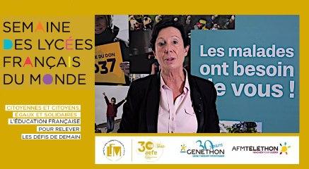 Le partenariat AEFE-Téléthon en 2020