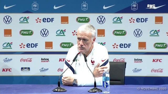 """France : Deschamps évoque """"5-6 joueurs forfaits pour la Finlande"""""""