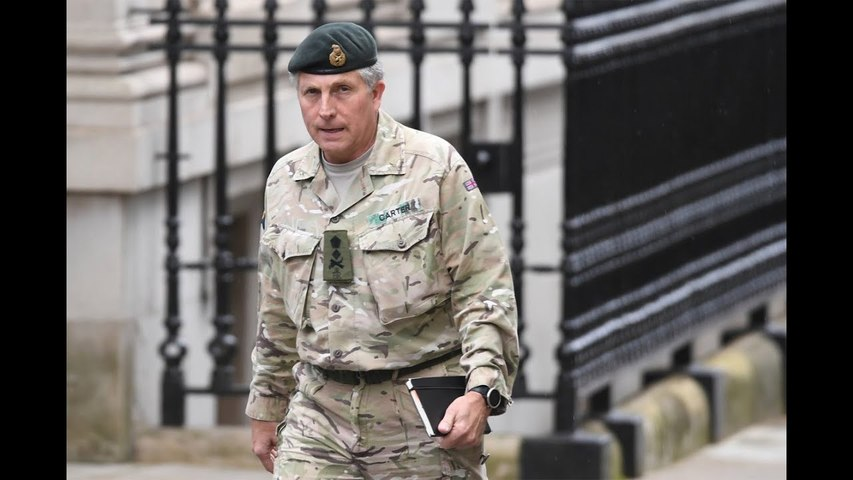Top UK military commander Nick Carter fears COVID-19 could spark third