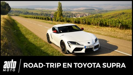 Road-trip en Toyota Supra 2.0