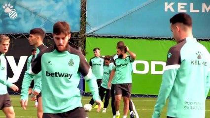 Hugo Blanco, director de identidad del club explica su trabajo en el Espanyol (13/11/20)