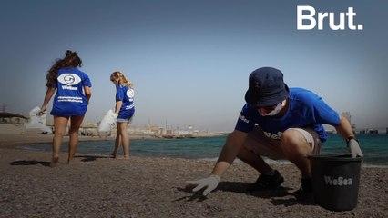 Israel's biggest beach cleanup