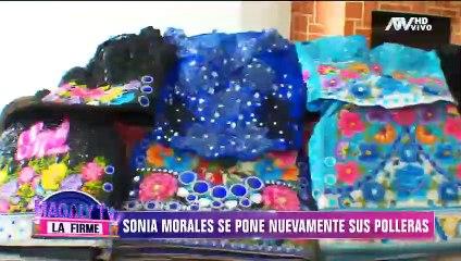 Sonia Morales desempolva sus polleras después de 8 meses para incursionar en los conciertos virtuales