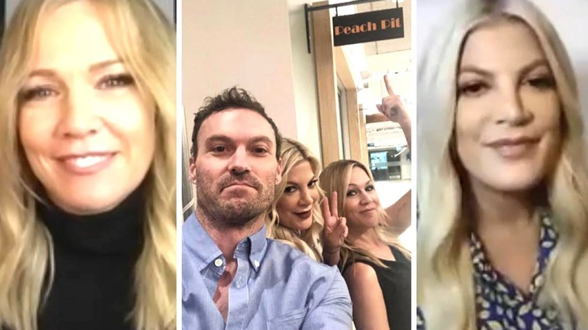Tori Spelling and Jennie Garth on Brian Austin Green and Their Own Spotlight Struggles