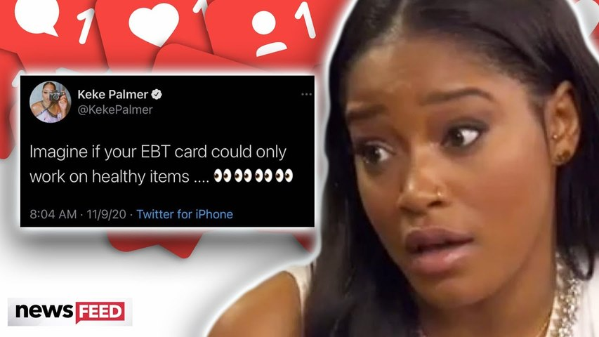 Keke Palmer RIDICULED For Insensitive Food Stamp Comments!