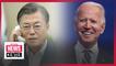 Moon to hold phone dialogue with Biden soon; S. Korean FM makes Biden contacts