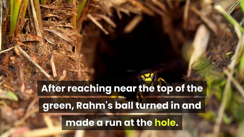 Jon Rahm hit the most absurd shot of the Masters before the tournament