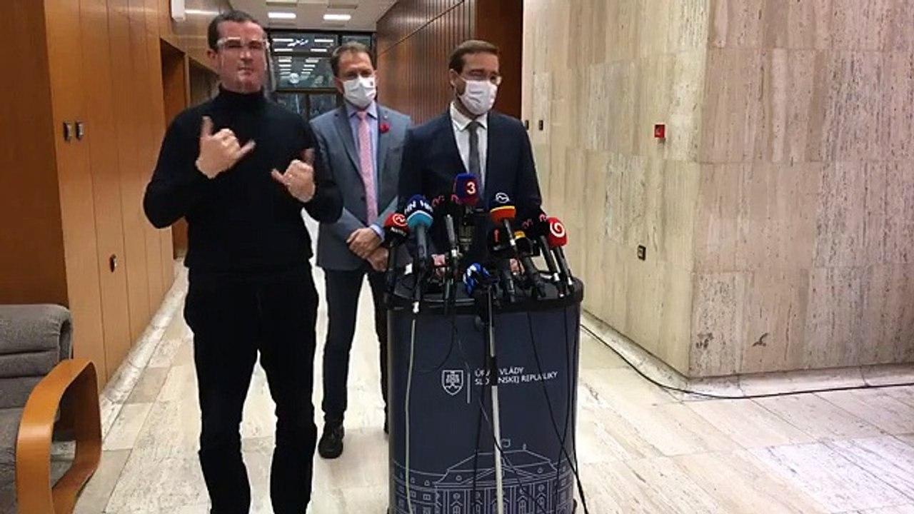 ZÁZNAM: TK premiéra I. Matoviča a ministra zdravotníctva M. Krajčího