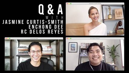 Director RC Delos Reyes, Jasmine Curtis-Smith, and Enchong Dee share their alter name | ClickTheCity