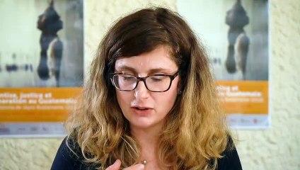 Hantise, justice et réparation au Guatemala: La Llorona de Jayro Bustamante (2019).  Paola García (Université Paris Nanterre) y preguntas del publico