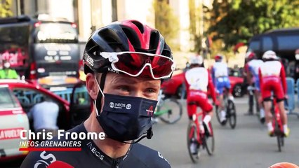 Chris Froome's Emotional Last Race With Ineos