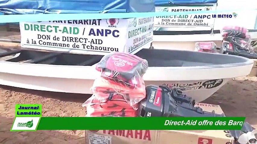Inondation: Direct-Aid Bénin offre des barques motorisées à 4 communes et à la police fluviale