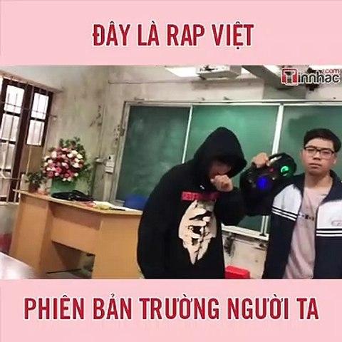 Đây là Rap Việt phiên bản trường người ta
