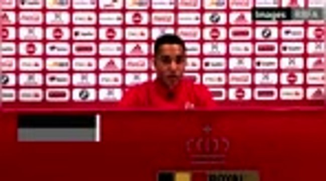 """Belgique - Tielemans : """"On a montré notre envie de gagner en deuxième mi-temps"""""""