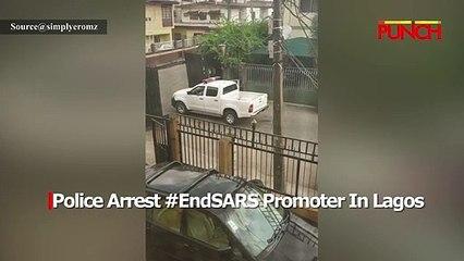 Police Arrest #EndSARS Promoter In Lagos