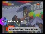 Video Evo Morales y su discurso incendiario a su retorno del exilio