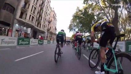 Inside the Peloton: Vuelta a Espana Sprint Finish