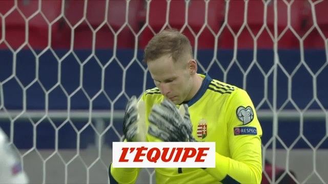 La grosse boulette de Gulacsi pour la Hongrie - Foot - Qualifs. Euro