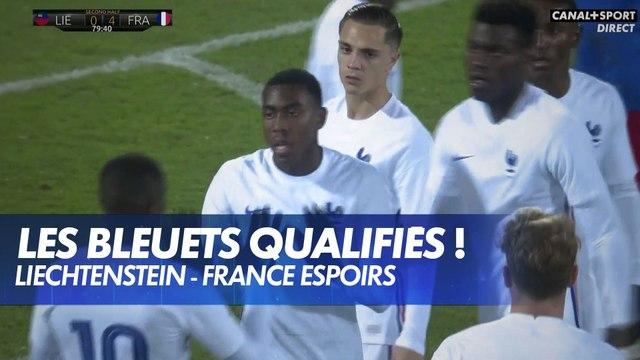 Les Bleuets qualifiés pour l'Euro 2021 !