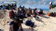 Au moins 74 morts dans un naufrage au large des côtes libyennes