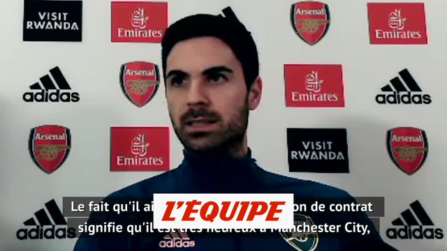 Arteta : « Guardiola se sent valorisé à City » - Foot - ANG - Arsenal