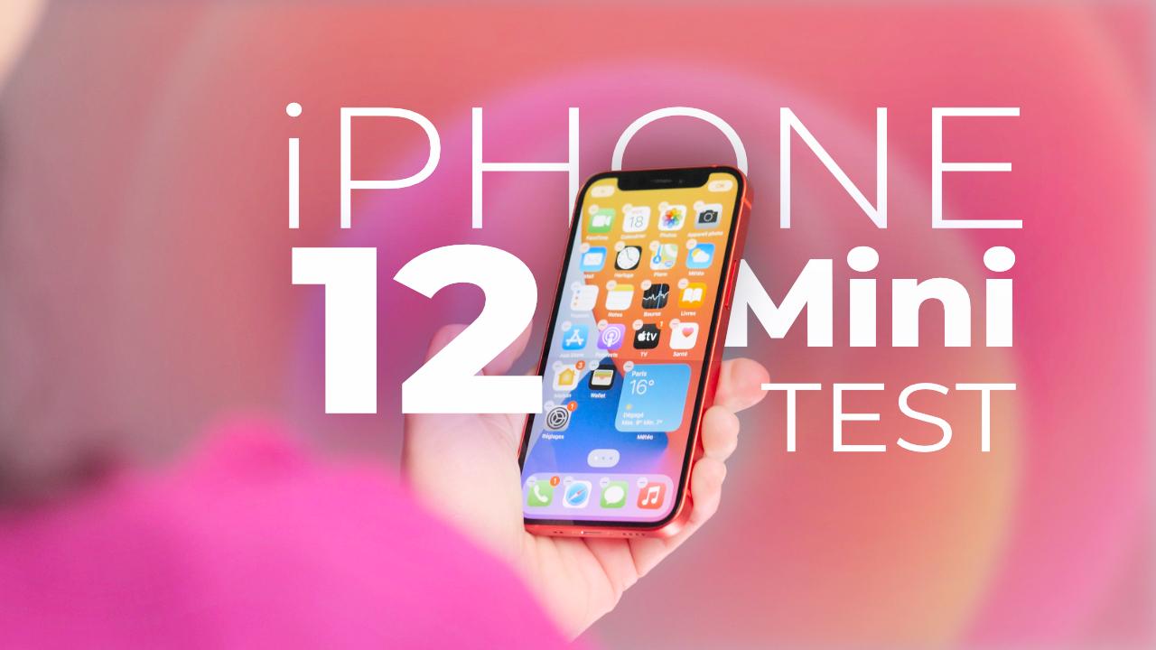 TEST iPhone 12 mini : le smartphone petit, puissant, qu'on veut moins utiliser