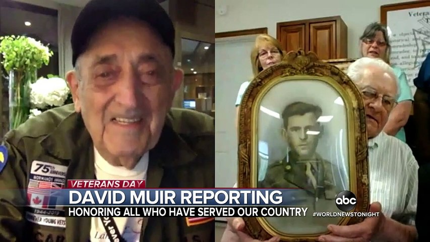 Catching up with World War II veterans after their return to Normandy last year
