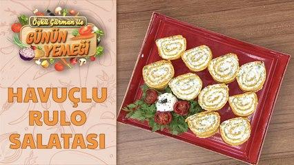 Havuçlu Rulo Salatası Tarifi