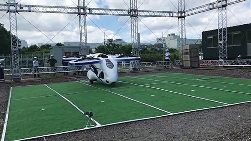 Prueba en Japón del prototipo NEC de coche volador (16/08/2019)