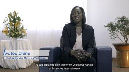 Nos collaborateurs ont du talent - Fatou Diène