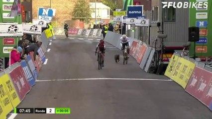 Dog Terrorizes Racers at Vlaamse Druivencross