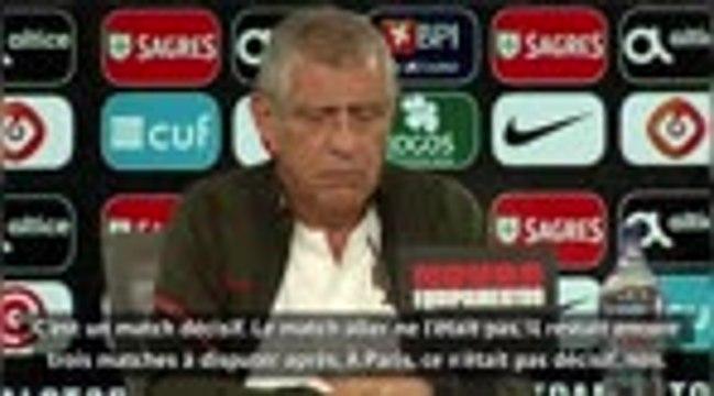 """Ligue des Nations - Santos : """"Si on se désorganise face aux Bleus..."""""""