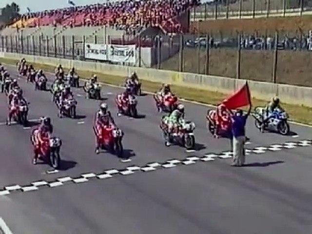 WSBK 1992 Round 07 - Mugello - Race 1 Highlights