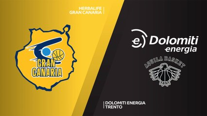7Days EuroCup Highlights Regular Season, Round 5: Gran Canaria 71-61 Trento