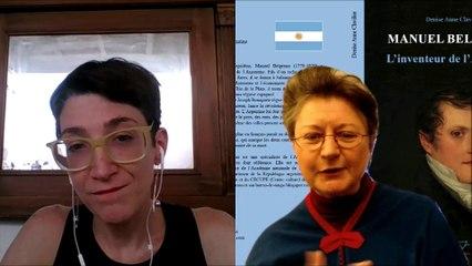 """Présentation de """"Manuel Belgrano - L'inventeur de l'Argentine"""" par Denise Anne Clavilier (Ed. du Jasmin)"""