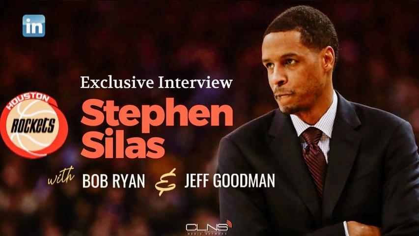 Houston Rockets Head Coach Stephen Silas
