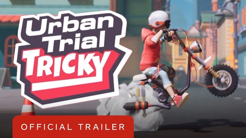 Urban Trial Tricky - Official Trailer  Summer of Gaming