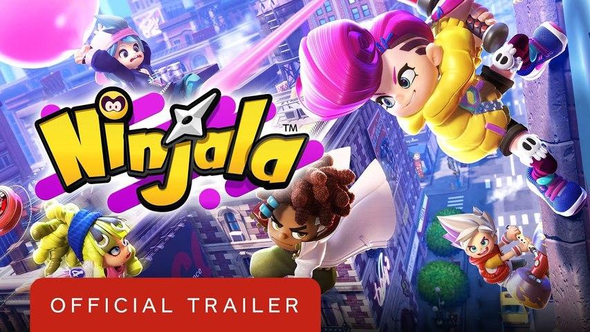 Ninjala - Official Story Trailer  Summer of Gaming 2020