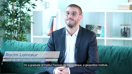 Our employees have talent  - Racim Lainceur