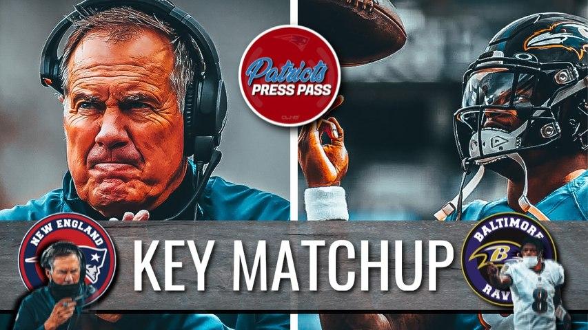 Key Matchup Patriots vs Ravens - NFL WEEK 10
