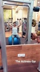 #amyradastur gym routine