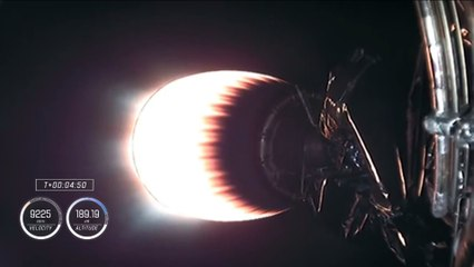 Lanzamiento  completo de la nave Crew Dragon  NASA / SpaceX Crew-1