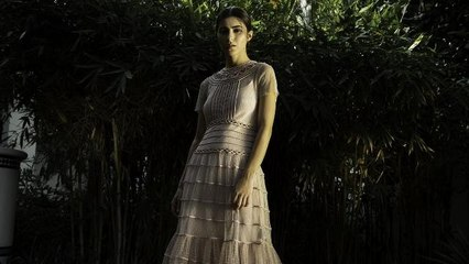 REDValentino featuring Dima Sheikhly  in the UAE exclusive special dress