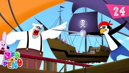 Beo n Peno - Pirates - Cartoon for kids