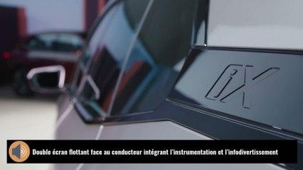 BMW iX : le concept du SUV en vidéo