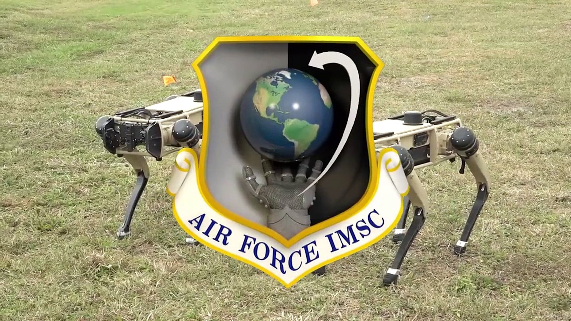 U.S Military • Robot Dogs • Enhance Base Perimeter Defense • Florida 13 Nov 2020
